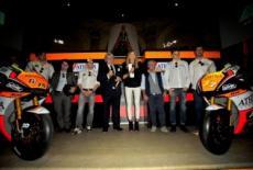 Официальную презентацию провела команда Forward Yamaha MotoGP