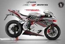 Tecnoart Sersan представили MV Agusta F4 RR AMG